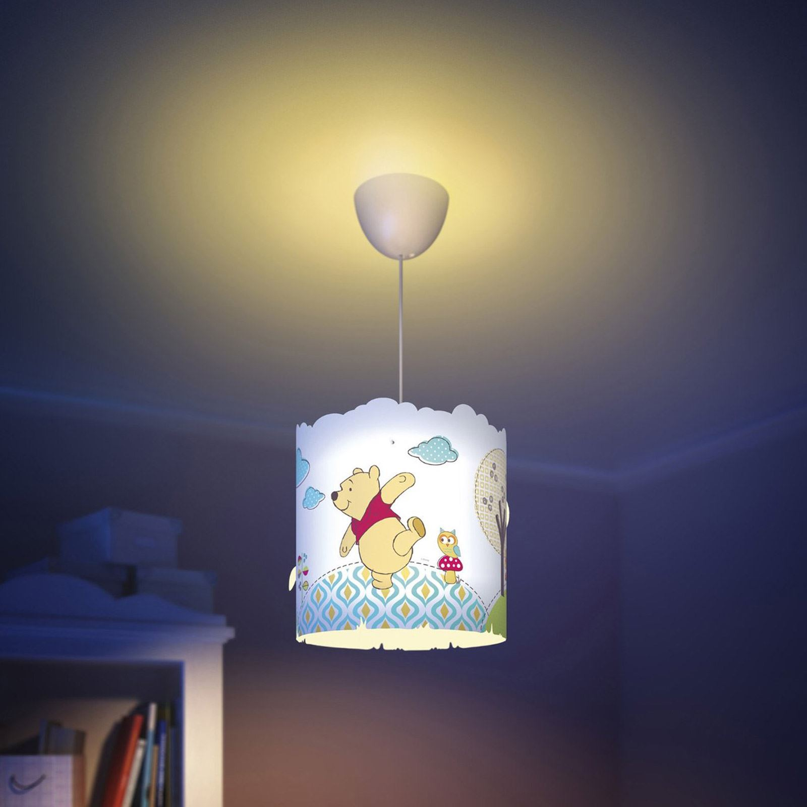 winnie the pooh ceiling light photo - 3