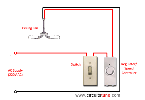 wiring ceiling fans photo - 6