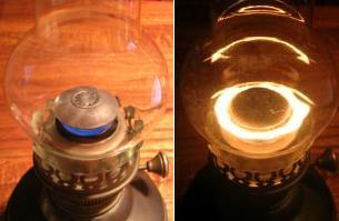 wizard wick hurricane lamps photo - 2