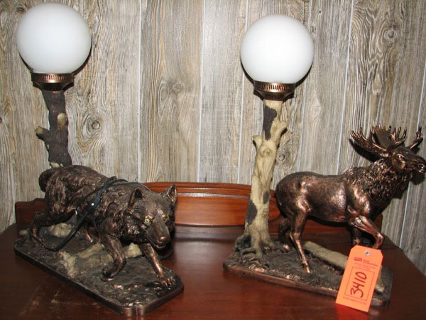 wolf lamps photo - 3