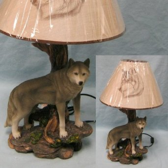 wolf lamps photo - 4