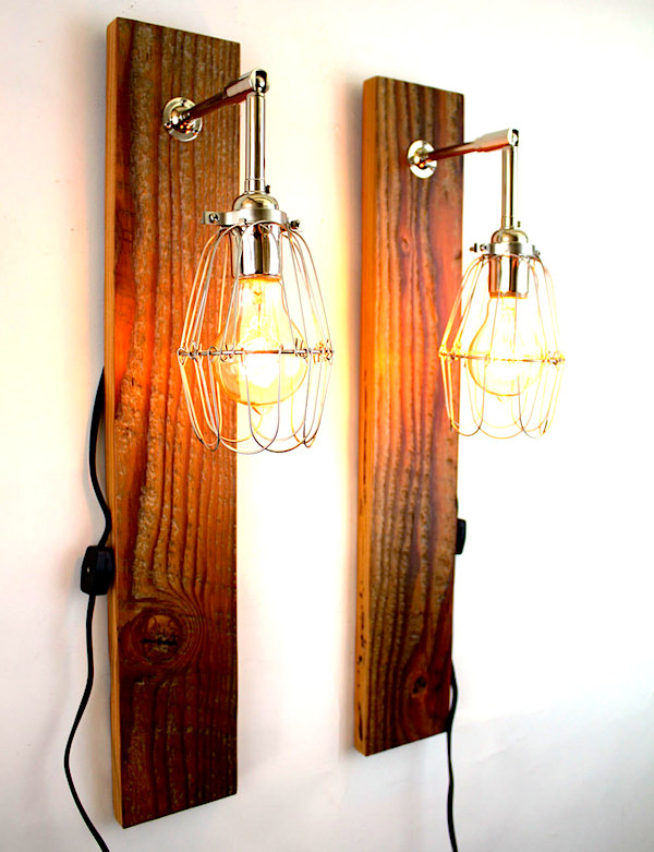 wood lamps photo - 1