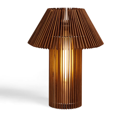 wood table lamps photo - 1