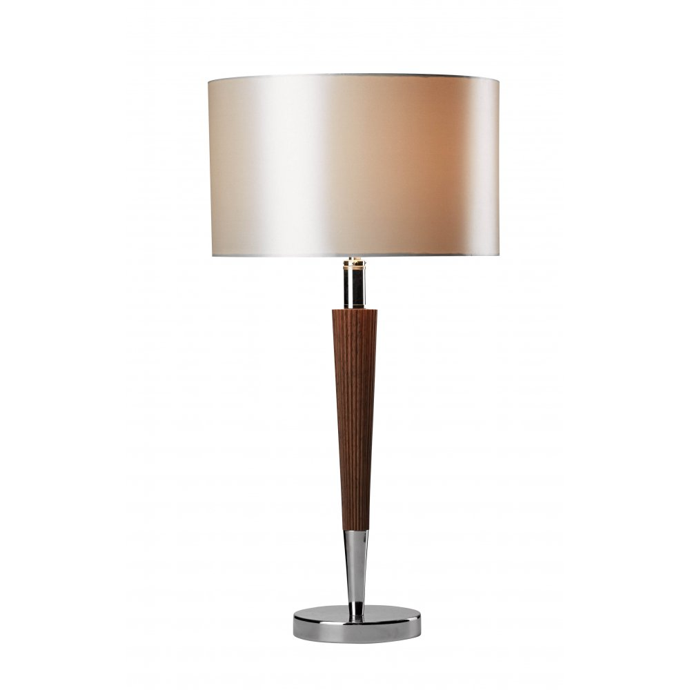 wood table lamps photo - 3