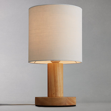 wood table lamps photo - 4