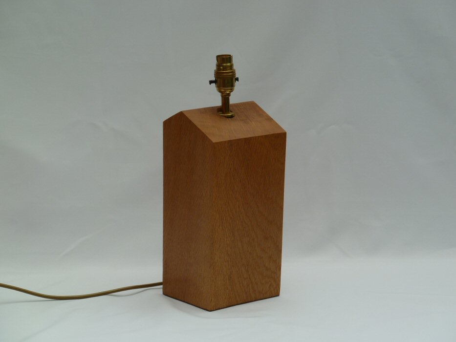 wood table lamps photo - 7