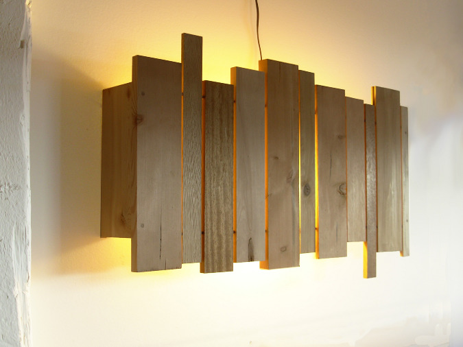 Wall Lights Made From Wood : Wood wall lights - 12 ideas to create an uniquely inviting atmosphere Warisan Lighting