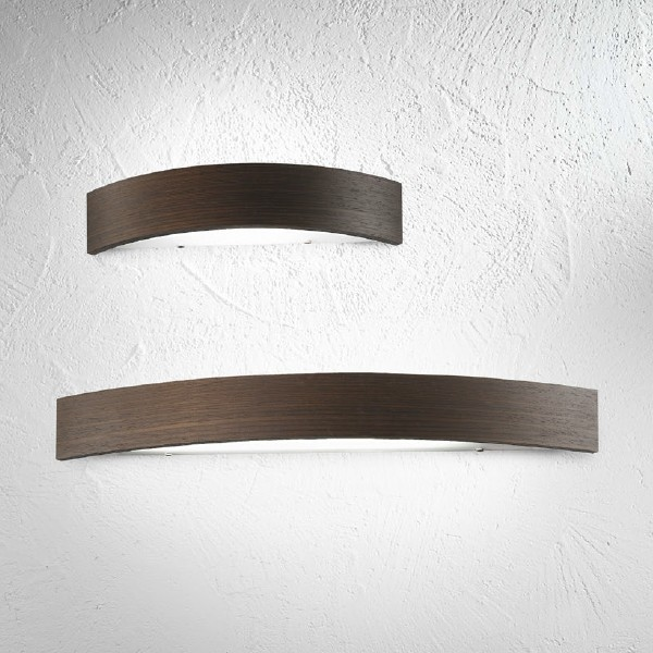 wood wall lights photo - 8