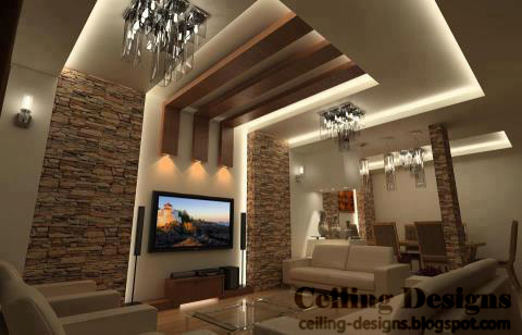 wooden ceiling lights photo - 5