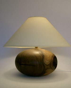 wooden table lamps photo - 2