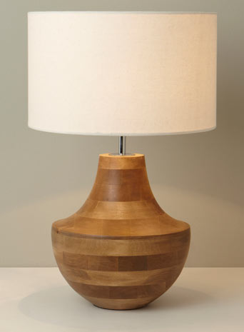 wooden table lamps photo - 4