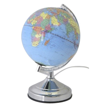 world globe lamp photo - 10