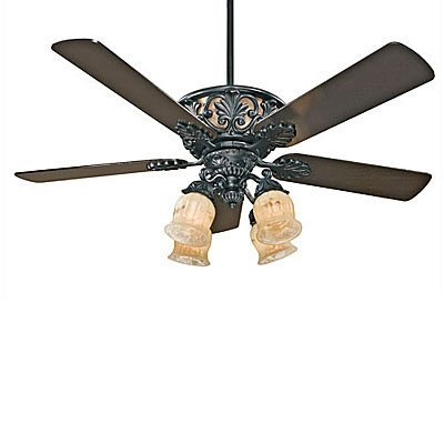 wrought iron ceiling fans photo - 3