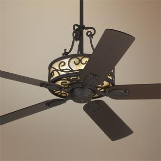 wrought iron ceiling fans photo - 9