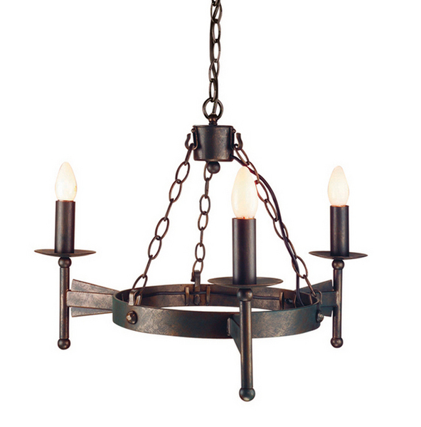 wrought iron ceiling lights photo - 8