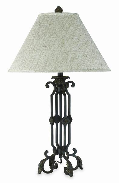 wrought iron lamps photo - 10