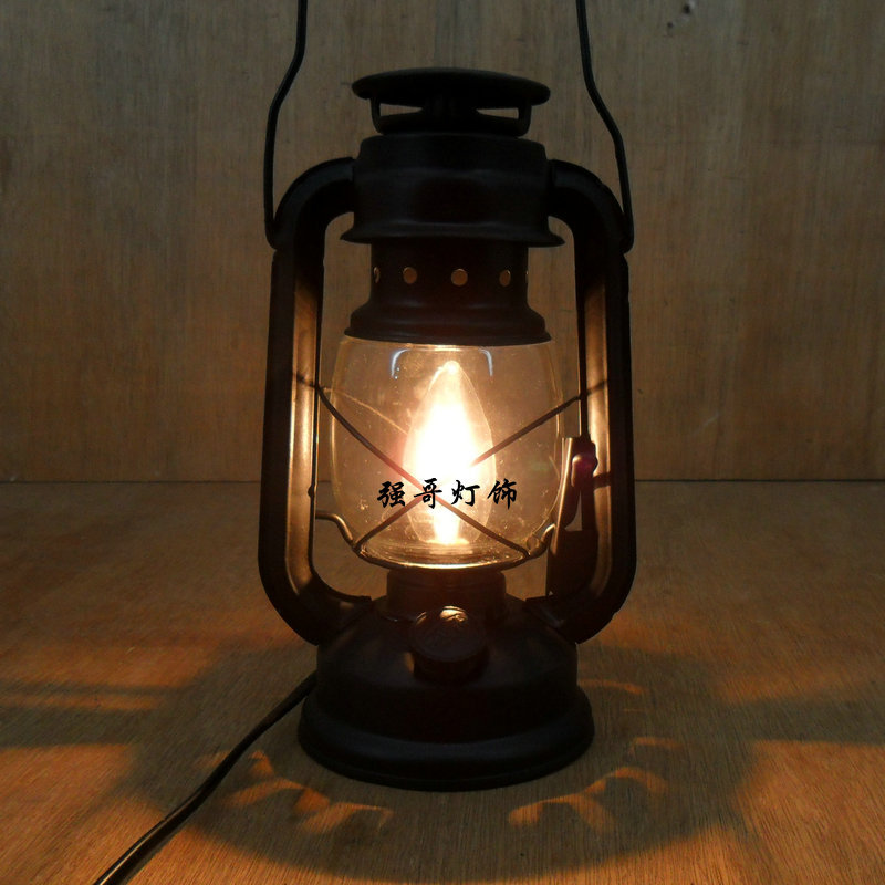 wrought iron table lamps photo - 1