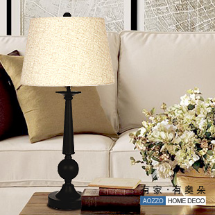 wrought iron table lamps photo - 5