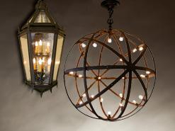 wrought iron wall lights photo - 4