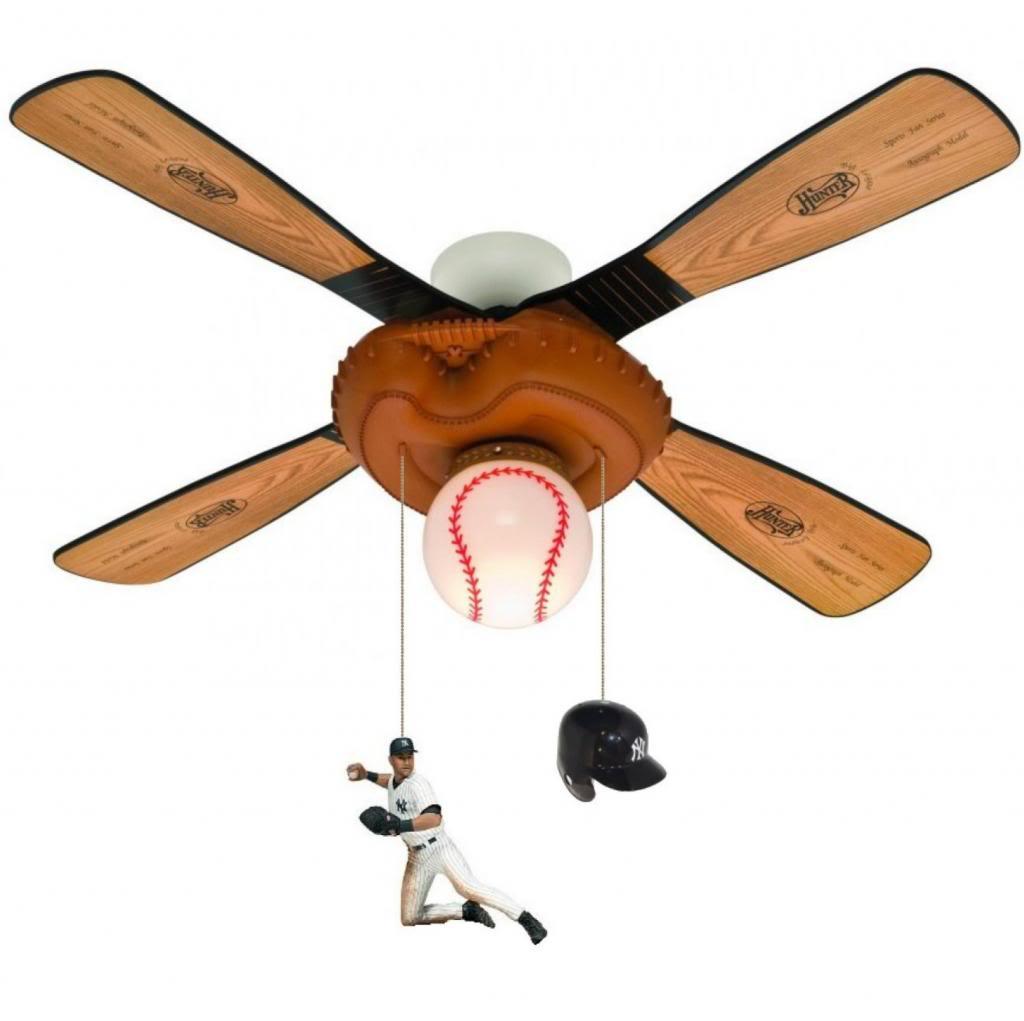 yankees ceiling fan photo - 4