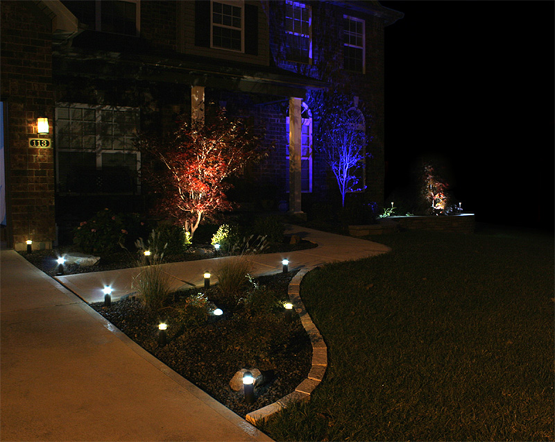 yard lamps photo - 2