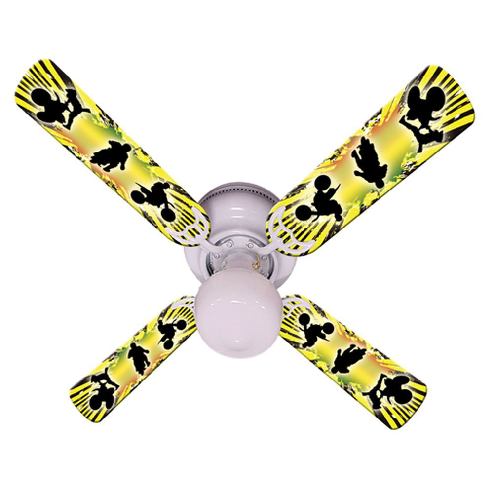yellow ceiling fan photo - 2