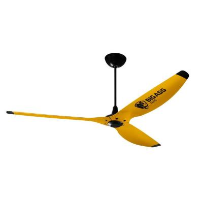 yellow ceiling fan photo - 3