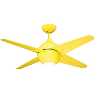 yellow ceiling fan photo - 4