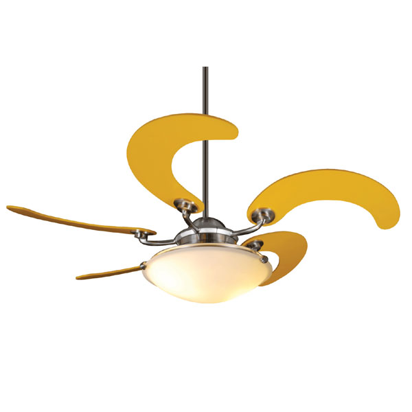 yellow ceiling fan photo - 8