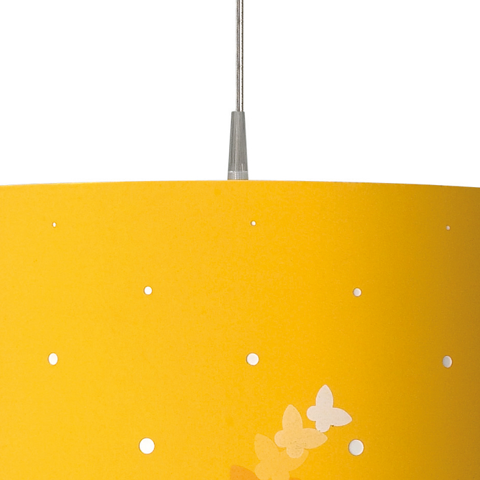 yellow ceiling lights photo - 1