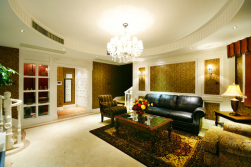 yellow ceiling lights photo - 10
