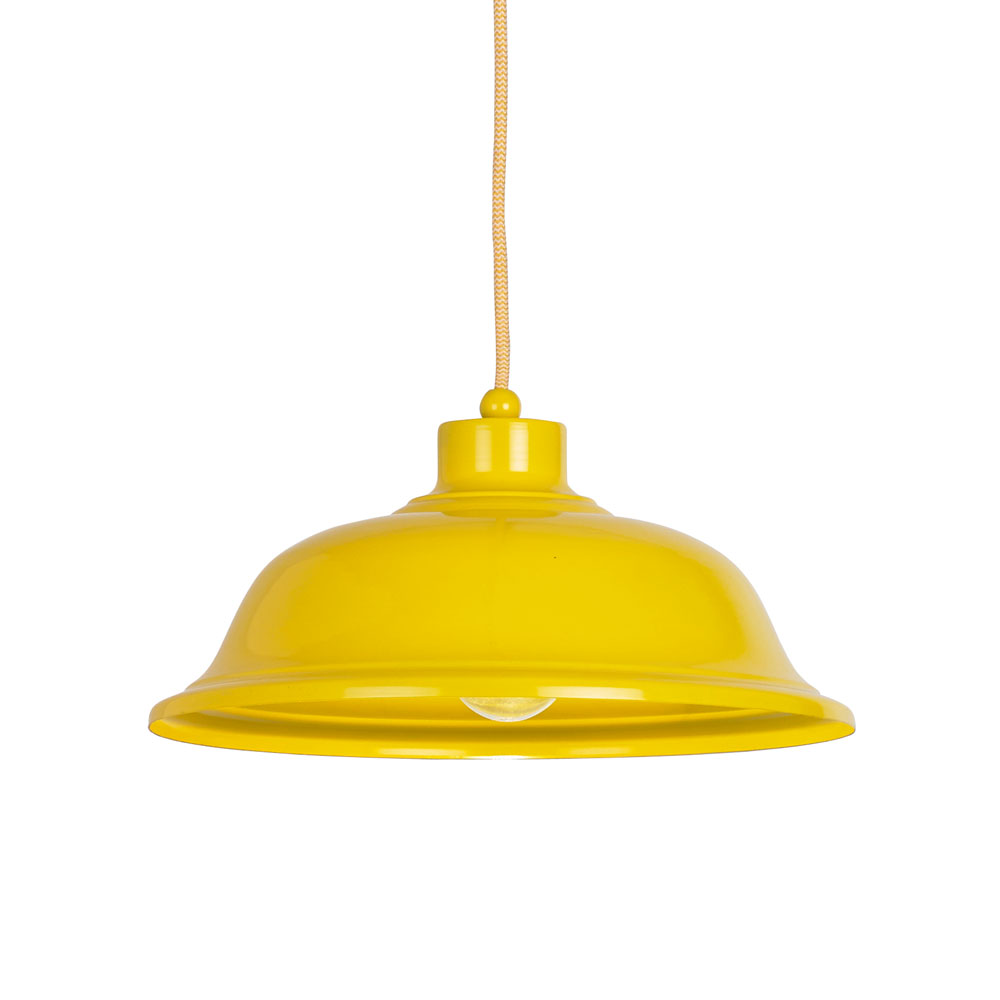 yellow ceiling lights photo - 4