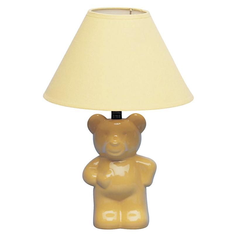 yellow ceramic lamp photo - 4