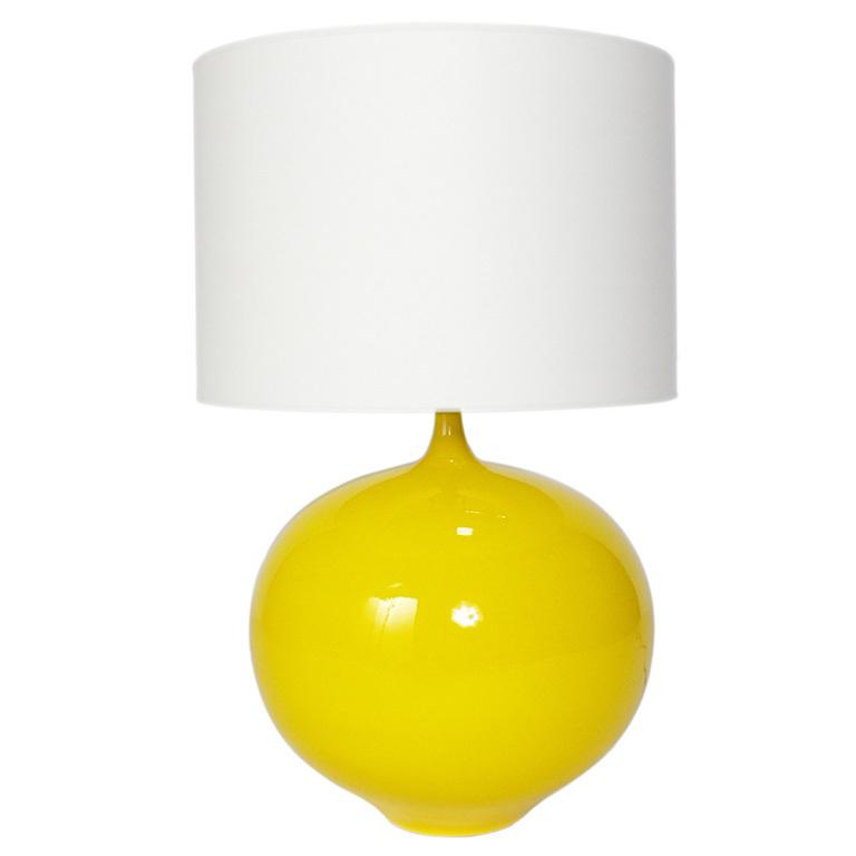yellow ceramic lamp photo - 7