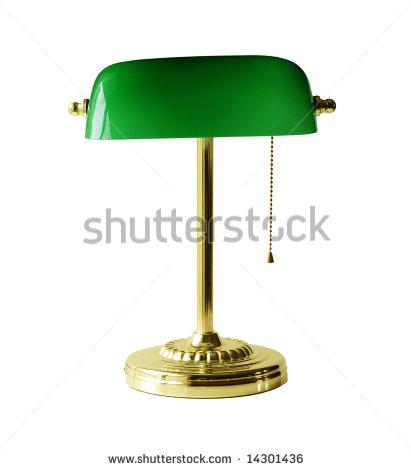 yellow desk lamp photo - 10