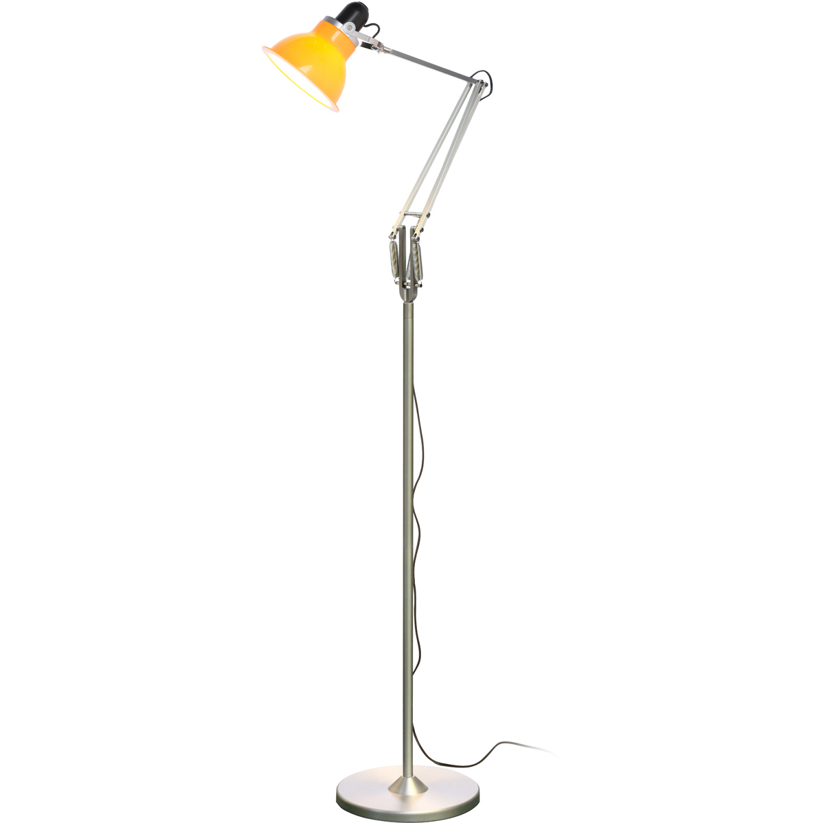yellow floor lamp photo - 5