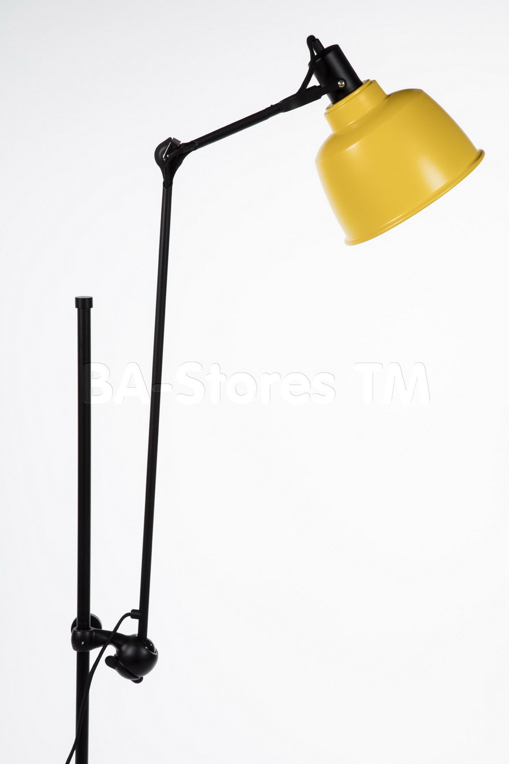 yellow floor lamp photo - 8