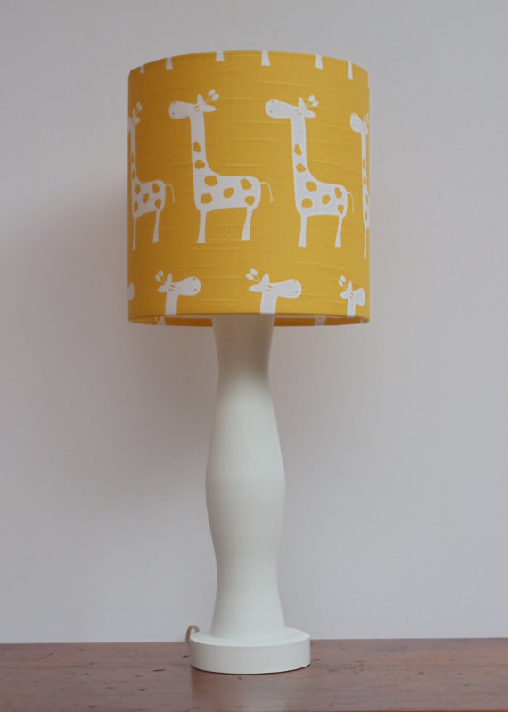 Light Up The Nursery With The Unique Yellow Lamp Warisan