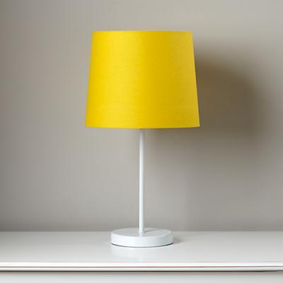 yellow nursery lamp photo - 3