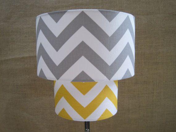 yellow nursery lamp photo - 8