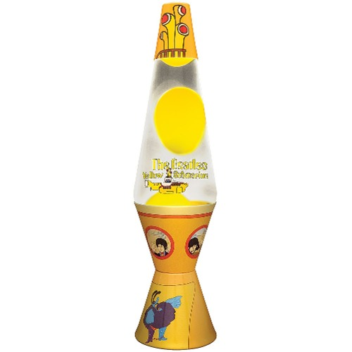 yellow submarine lava lamp photo - 2