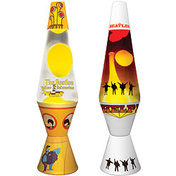 yellow submarine lava lamp photo - 6