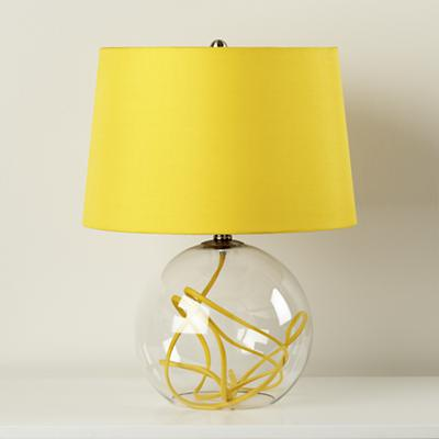 yellow table lamps photo - 1