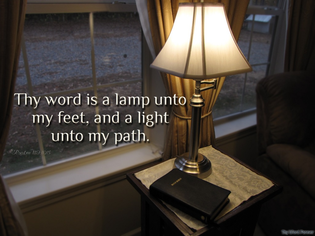 your word is a lamp photo - 1
