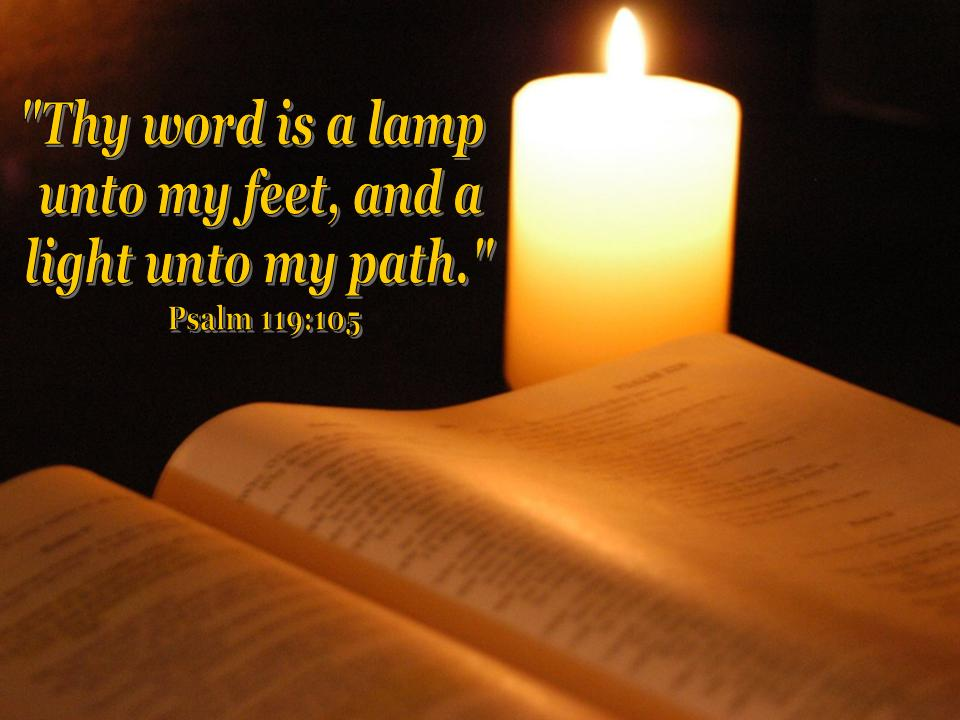 your word is a lamp photo - 4