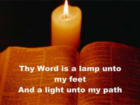 your word is a lamp photo - 5