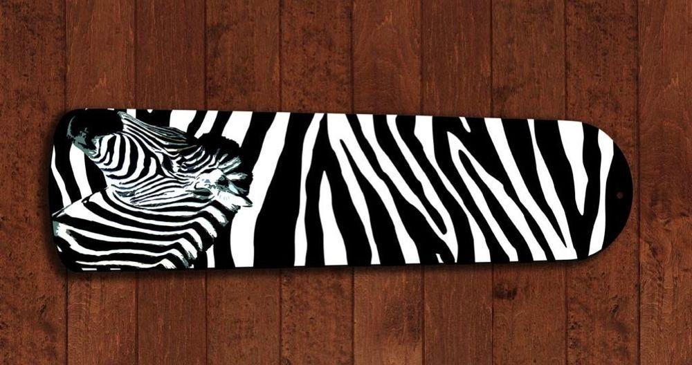 zebra ceiling fan photo - 10