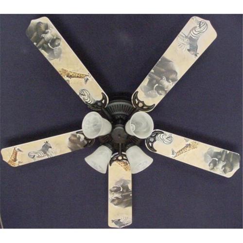 zebra ceiling fan photo - 5