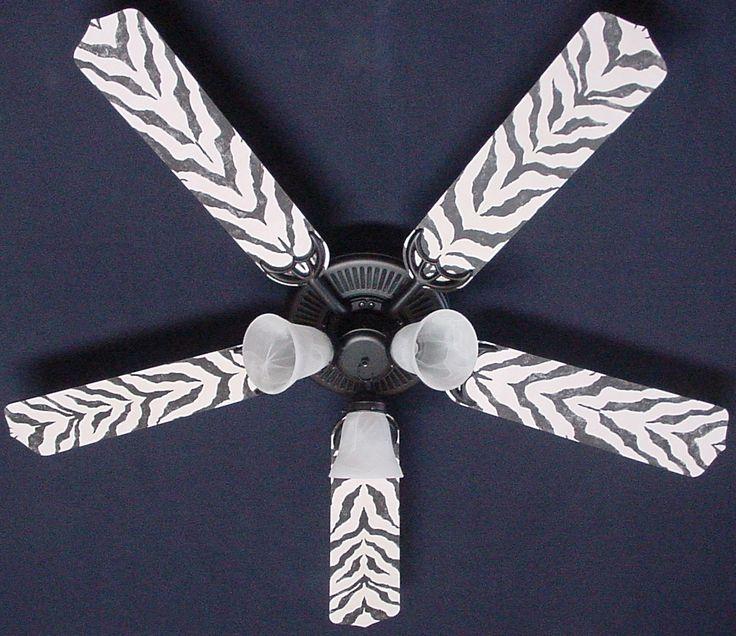 zebra ceiling fan photo - 6