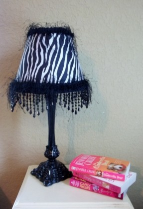 zebra print lamps photo - 6